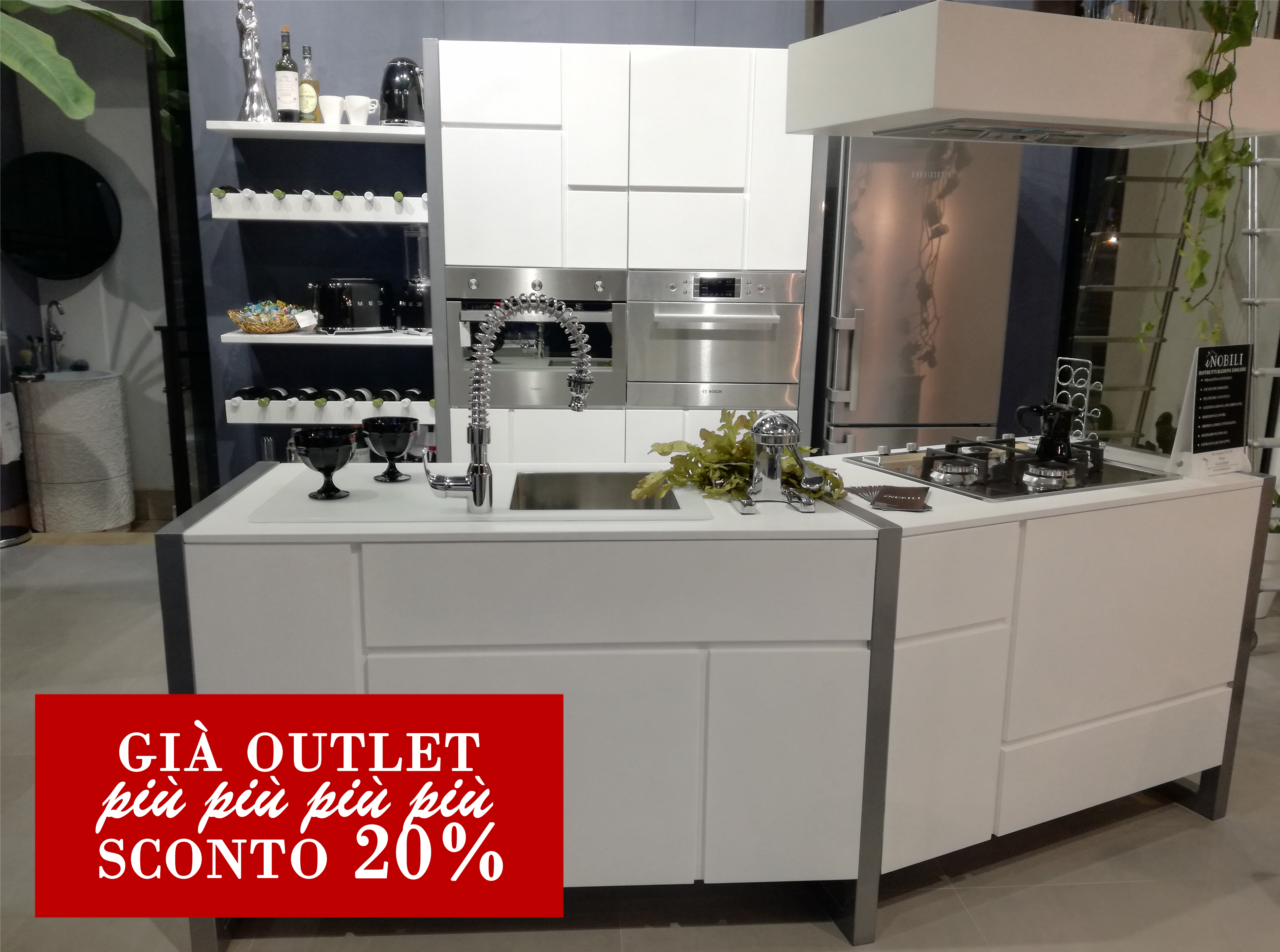 SCONTO -20% CUCINE MODERNE | iNobili Casa - Cucine su misura ...